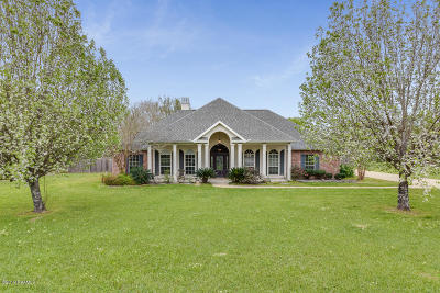 St Martinville, Breaux Bridge, Opelousas Single Family Home For Sale: 439 Meghan Drive