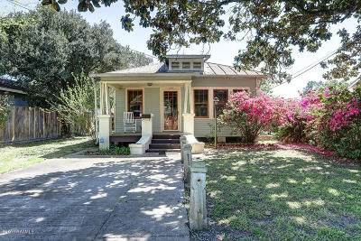 New Iberia Single Family Home For Sale: 122 Rosier Street