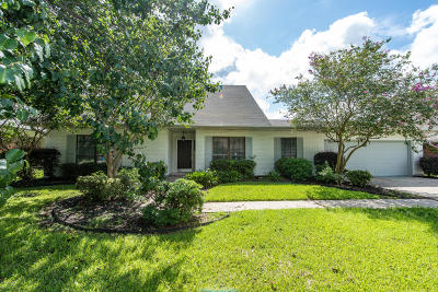 Single Family Home For Sale: 209 Orgeron Drive