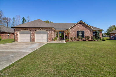 New Iberia Single Family Home For Sale: 746 Hummingbird Lane