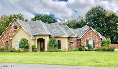 St Martinville, Breaux Bridge, Opelousas Single Family Home For Sale: 168 Rue De Hunter