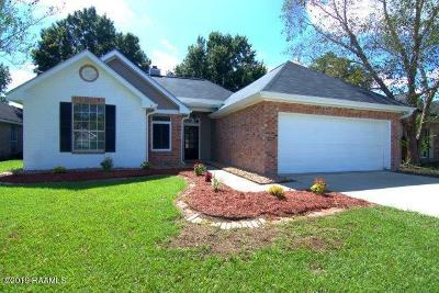 Lafayette  Single Family Home For Sale: 209 Shadowbrush Bend