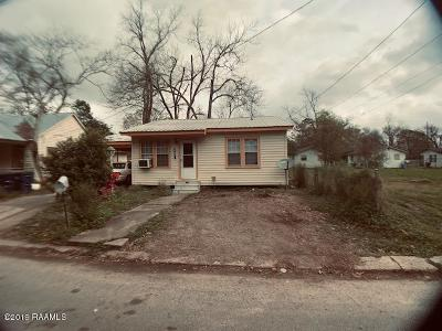 Opelousas Single Family Home For Sale: 419 E Leonard Avenue