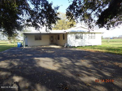 Jeanerette Single Family Home For Sale: 649 Hwy 318