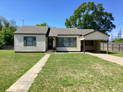 Crowley Single Family Home For Sale: 1515 N Ave A