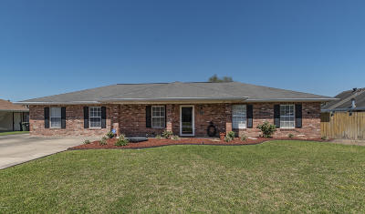 New Iberia Single Family Home For Sale: 815 Dartez Dr