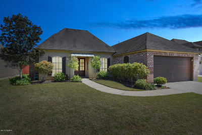 broussard Single Family Home For Sale: 216 Masters Drive