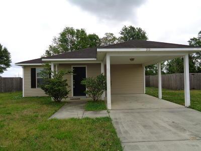Carencro  Single Family Home For Sale: 313 Oak Springs Lane