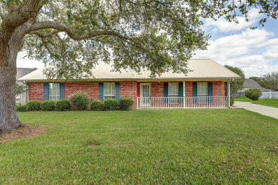 Iberia Parish Single Family Home For Sale: 1612 Cottonwood Drive