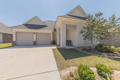 Woodlands Of Acadiana Single Family Home For Sale: 108 Olivewood Drive