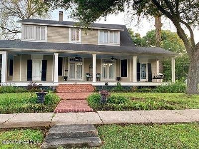 St Martinville, Breaux Bridge, Abbeville Single Family Home For Sale: 305 E Saint Victor Street