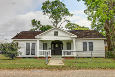 Jeanerette Single Family Home For Sale: 414 Druilhet Street