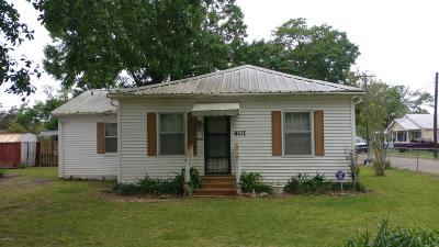 St. Martinville Single Family Home For Sale: 401 W Claiborne Street