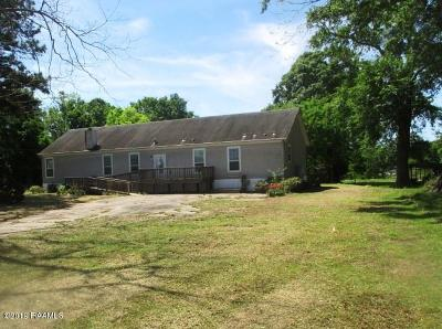 New Iberia Single Family Home For Sale: 5112 Old Jeanerette Road
