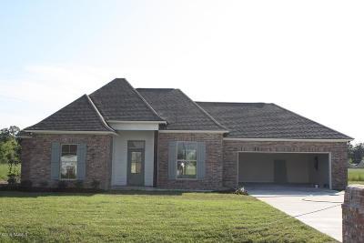 Breaux Bridge Single Family Home For Sale: 43 Hammock Lane