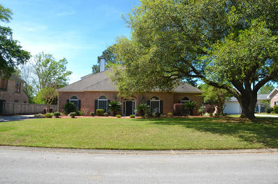 Lafayette Single Family Home For Sale: 109 Oakforest Drive