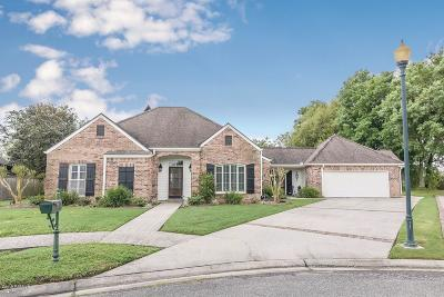 Broussard Single Family Home For Sale: 205 Troon Drive