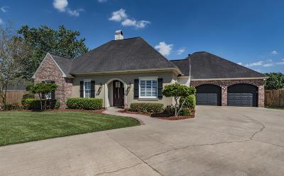 Breaux Bridge Single Family Home For Sale: 1039 Myrtle Bend
