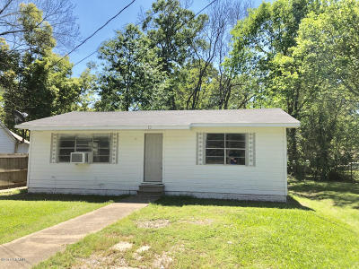 Ville Platte Single Family Home For Sale: 314 W Huey P Long Street