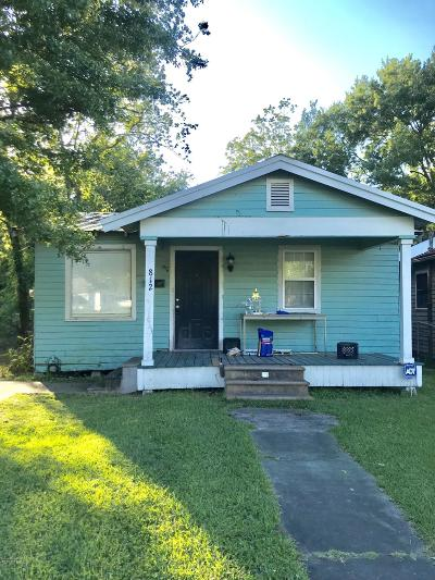 St. Martinville Single Family Home For Sale: 812 Washington Street