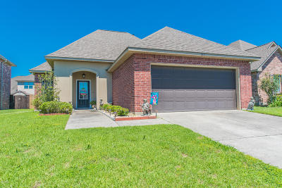 Broussard Single Family Home For Sale: 203 Morning Cypress Drive