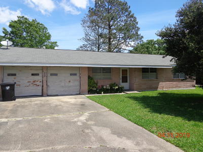 New Iberia Single Family Home For Sale: 2901 Old Jeanerette Road