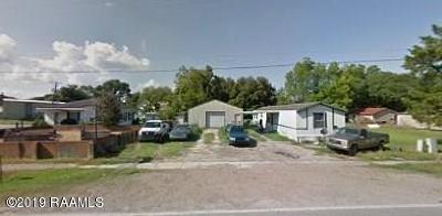 Mermentau Single Family Home For Sale: 113 Railroad Avenue