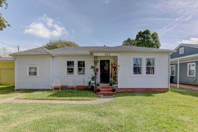 Lafayette Single Family Home For Sale: 612 Saint Frances Street