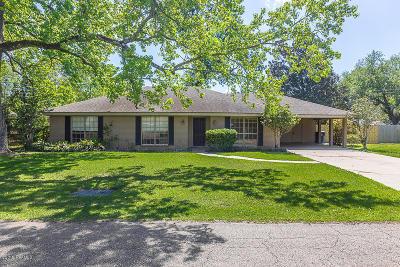 Lafayette Single Family Home For Sale: 408 Alonda Drive