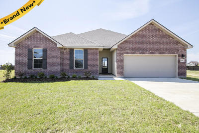 Youngsville Single Family Home For Sale: 208 Voiliere Drive