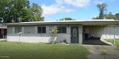 Eunice Single Family Home For Sale: 1230 Clanton Avenue
