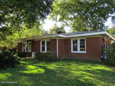 Carencro Single Family Home For Sale: 136 Bradford Drive