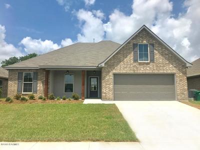 Youngsville Single Family Home For Sale: 201 St. Caillin Street