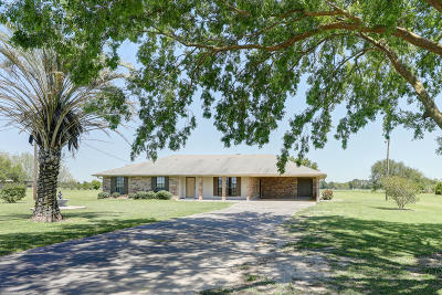 New Iberia Single Family Home For Sale: 6015 Derouen Road