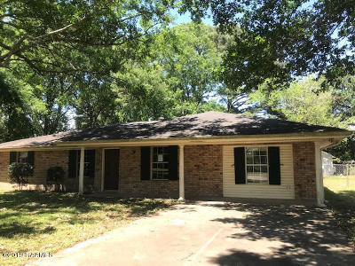 New Iberia Single Family Home For Sale: 128 N Richelieu Circle