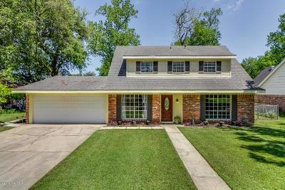 Lafayette Single Family Home For Sale: 317 Corona Drive