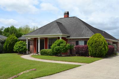 Broussard Single Family Home For Sale: 104 S Grindstone Drive