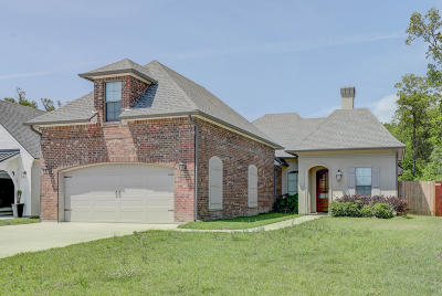 Lafayette  Single Family Home For Sale: 311 Wetgrass Drive Drive