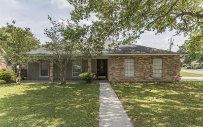 New Iberia Single Family Home For Sale: 818 Briarwood Drive