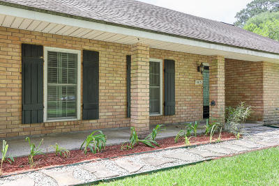 Lafayette Single Family Home For Sale: 605 E Bayou Parkway