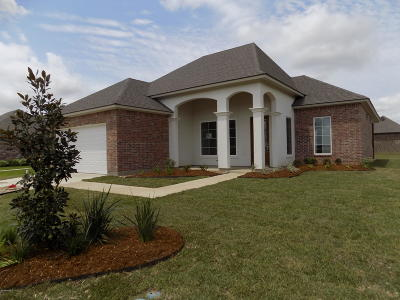 Broussard Single Family Home For Sale: 207 Gentle Island Drive