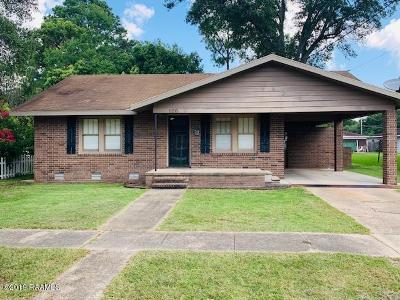 Eunice Single Family Home For Sale: 620 W Vine Street