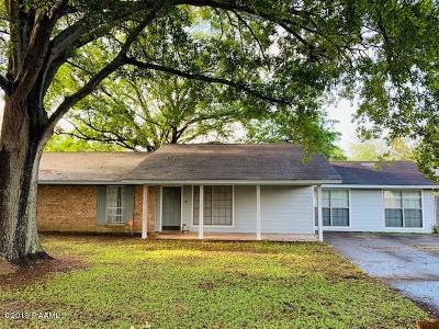 Eunice Single Family Home For Sale: 1418 Darrell Street
