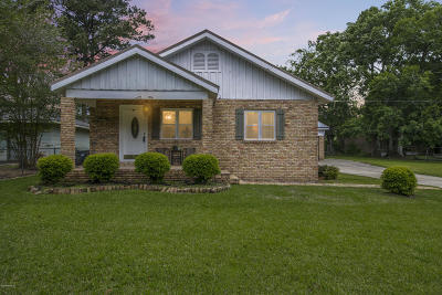 New Iberia Single Family Home For Sale: 105 Texaco Street