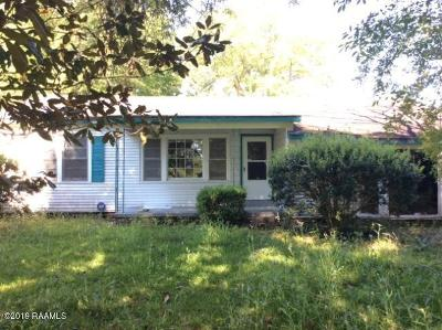 Single Family Home For Sale: 426 Fontenot Street