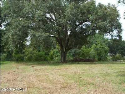 Vermilion Parish Residential Lots & Land For Sale: 10540 La Hwy 82