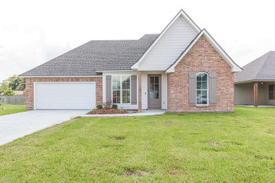 Carencro Single Family Home For Sale: 103 Safe Haven Drive