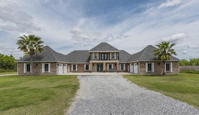 St. Martinville Single Family Home For Sale: 1433 Cypress Island Hwy