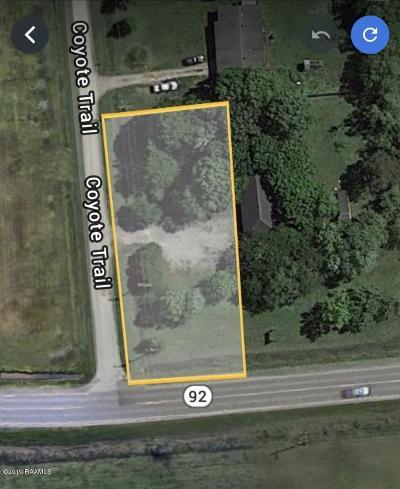 Vermilion Parish Residential Lots & Land For Sale: 302 Coyote Trail Trail