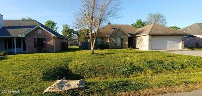 Carencro Single Family Home For Sale: 317 Herlil Circle